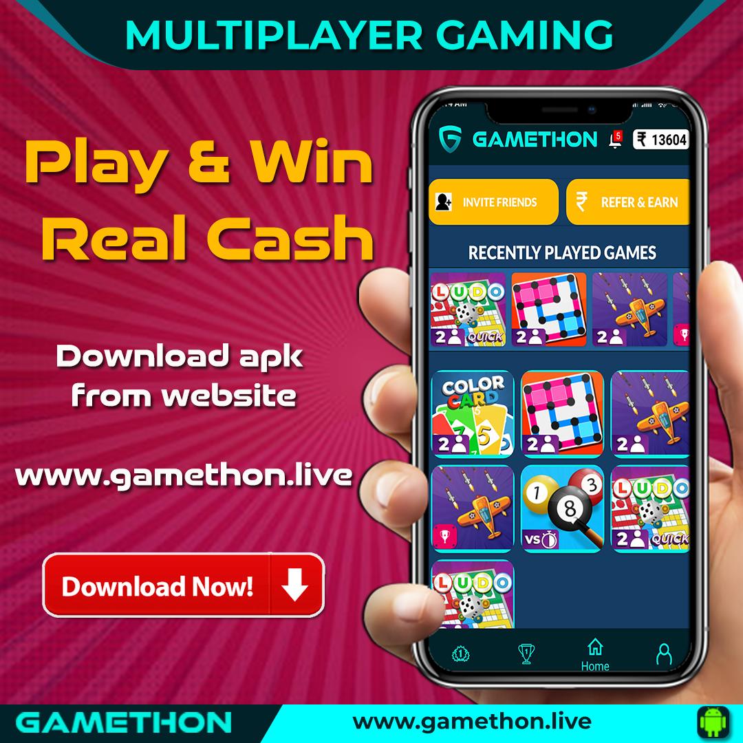 gamethon money earning games